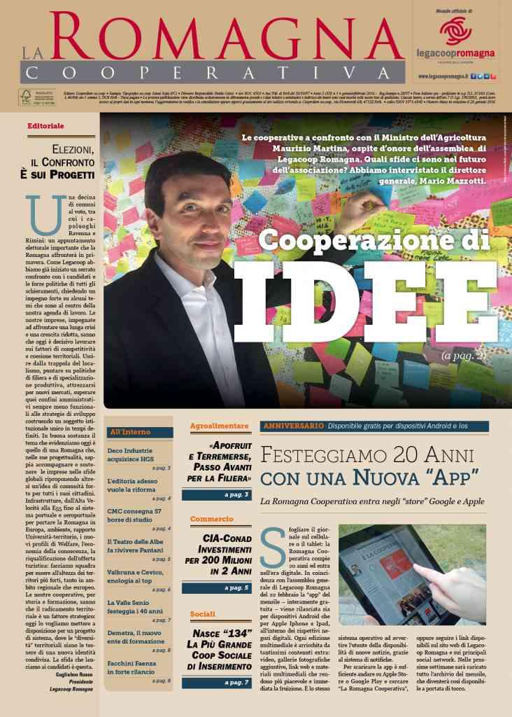 La Romagna Cooperativa compie 20 anni