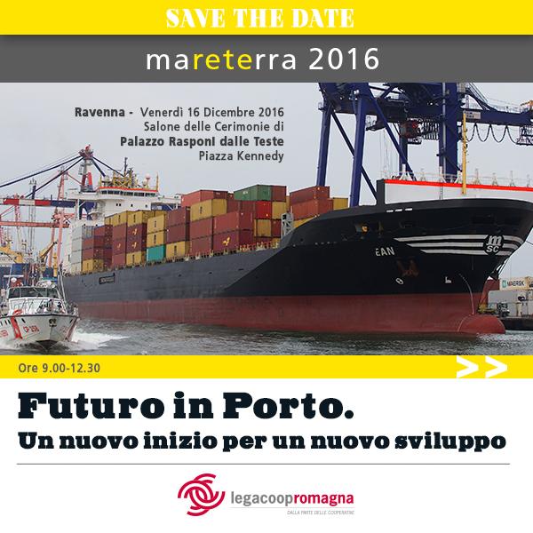 Mareterra 2016, il 16 dicembre a Ravenna si torna a parlare di porto e logistica