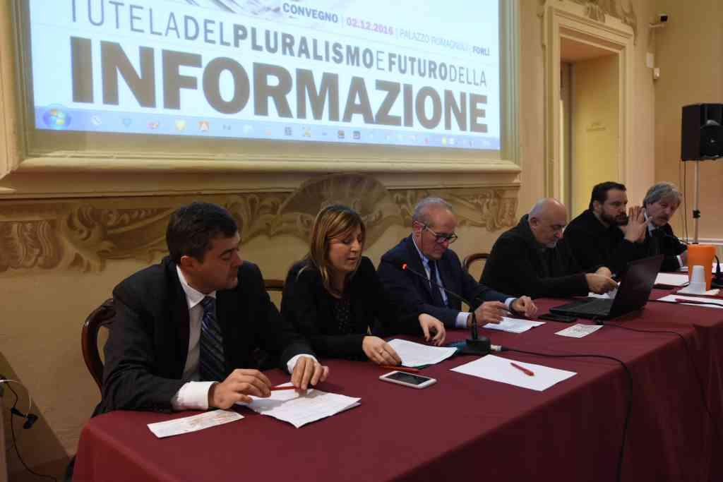 Tutela del pluralismo e futuro dell'informazione, il convegno nazionale a Forlì [foto] [video]