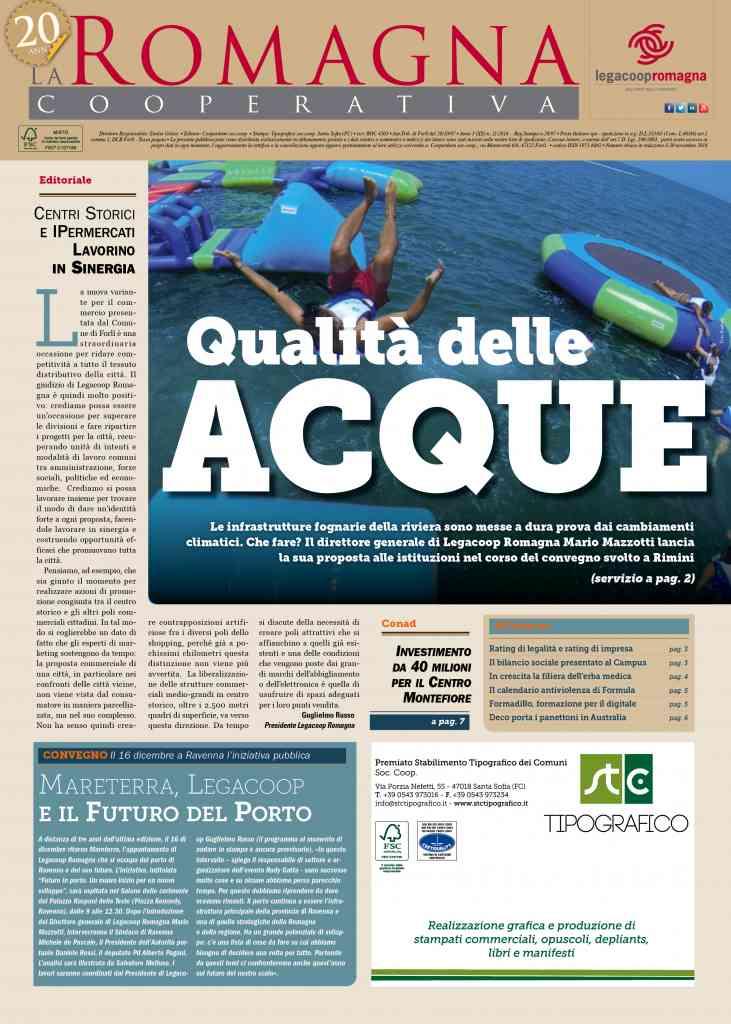 Il mensile di Legacoop Romagna da scaricare gratis in formato PDF
