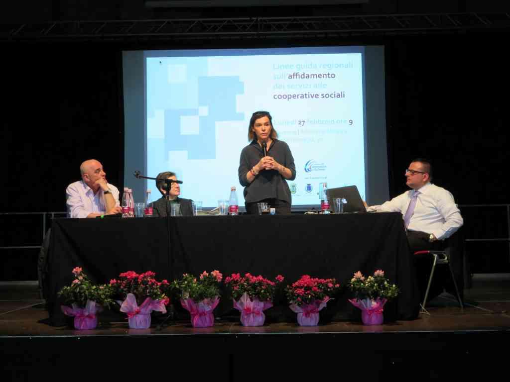 Grande partecipazione al convegno ACI sulle coop sociali con Elisabetta Gualmini