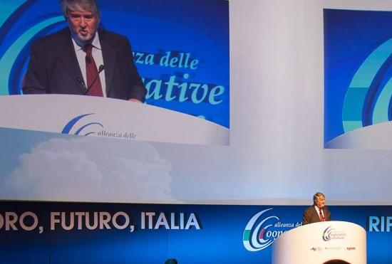 L'assemblea dell'Alleanza delle Cooperative Italiane in diretta streaming