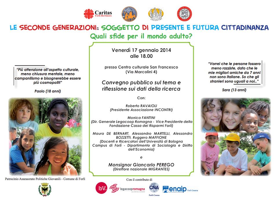 Legacoop Romagna interviene al convegno della Caritas sulle seconde generazioni