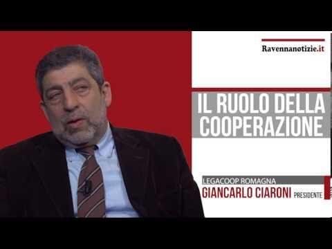 Giovani@lavoro: videointervista a Giancarlo Ciaroni, presidente di Legacoop Romagna