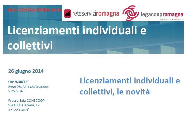 Il 26/6 a Forlì seminario gratuito sulle novità in tema di licenziamenti individuali e collettivi