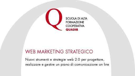 Formazione sul web marketing strategico con Quadir