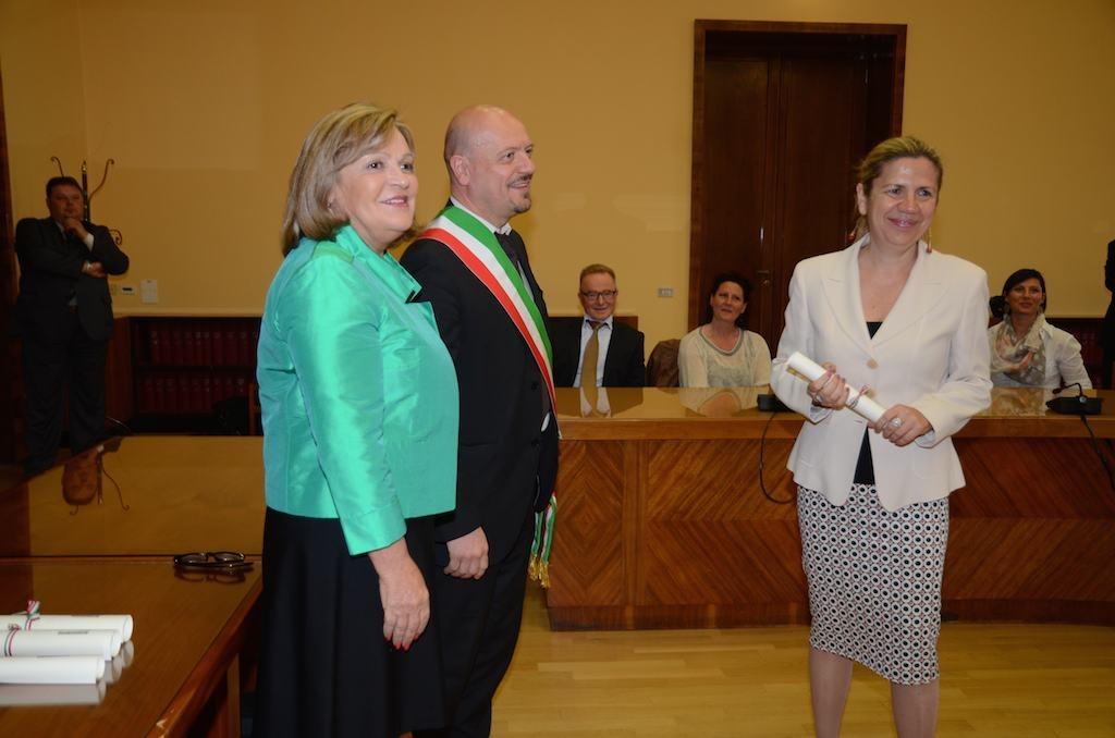 Monica Fantini nominata Cavaliere al Merito della Repubblica