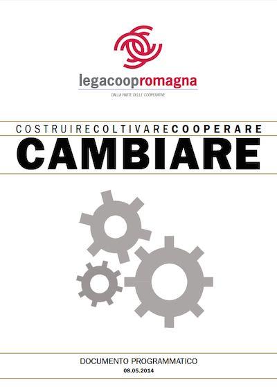 Il documento programmatico di Legacoop Romagna