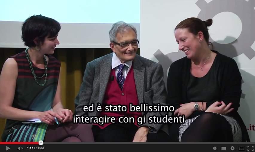 Amartya Sen, CIA-Conad, Fruttagel e Piadina Loriana nella nuova puntata di Legacoop TV