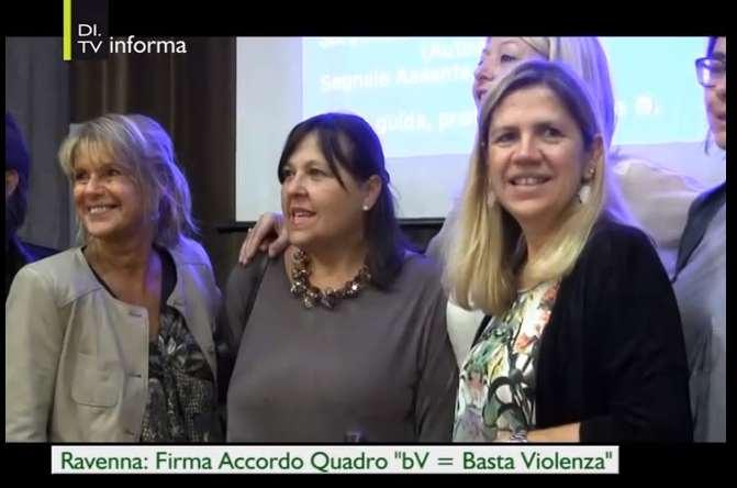 BV=Basta Violenza, firmato a Ravenna l'accordo quadro tra i centri antiviolenza romagnoli