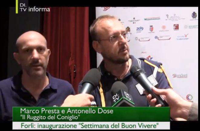 Inaugurazione della Settimana del Buon Vivere col Ruggito del Coniglio – VIDEO – il servizio di DI.TV Emilia-Romagna