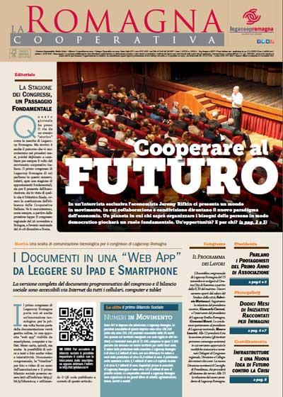 La Romagna Cooperativa: Jeremy Rifkin nello speciale congresso Legacoop Romagna