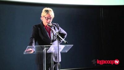 VIDEO – Il discorso di insediamento di Ruenza Santandrea al primo congresso di Legacoop Romagna