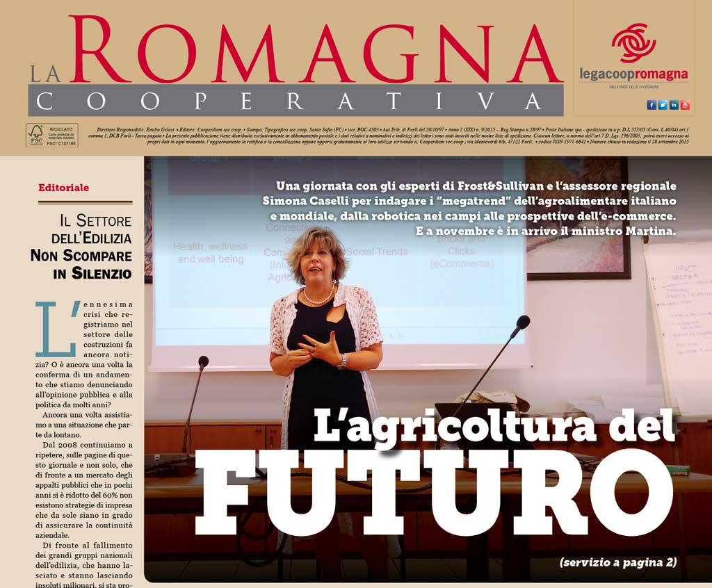 L'agricoltura del futuro nel nuovo numero della Romagna Cooperativa [PDF]