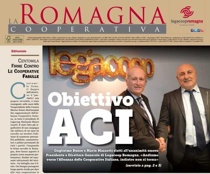 Obiettivo ACI: il nuovo numero della Romagna Cooperativa [pdf]