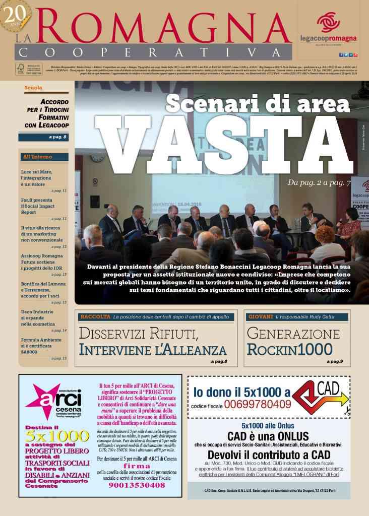 Scenari di area vasta: il nuovo numero della Romagna Cooperativa è online