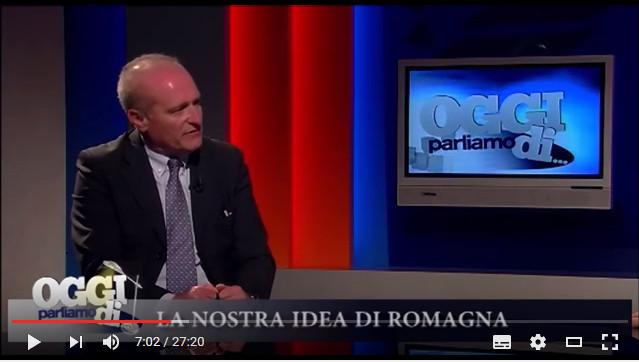 """TeleRomagna intervista Guglielmo Russo e Mario Mazzotti su """"La nostra idea di Romagna"""" [video]"""