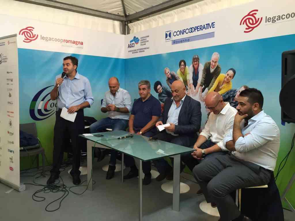 Le foto dell'incontro sulle infrastrutture alla Fiera della Bassa Romagna di Lugo