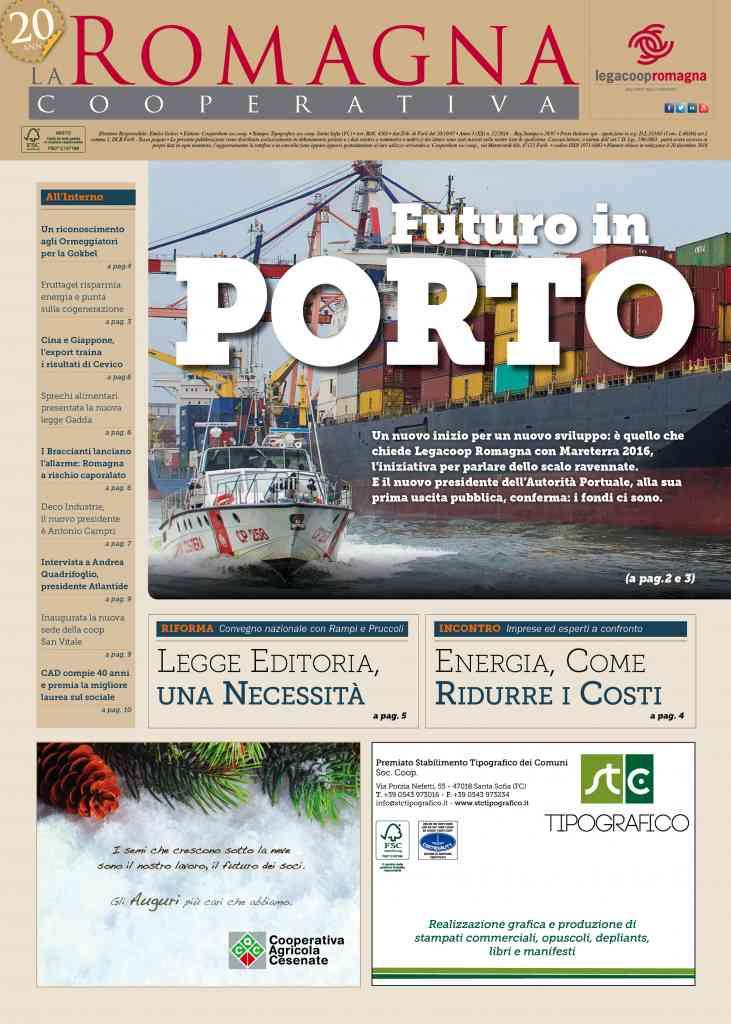 Futuro in porto, il nuovo numero della Romagna Cooperativa