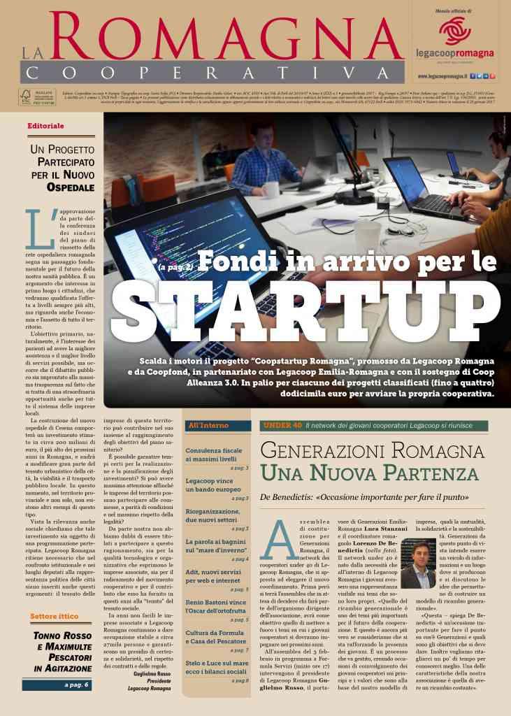Fondi in arrivo per le startup – il nuovo numero della Romagna Cooperativa [pdf]