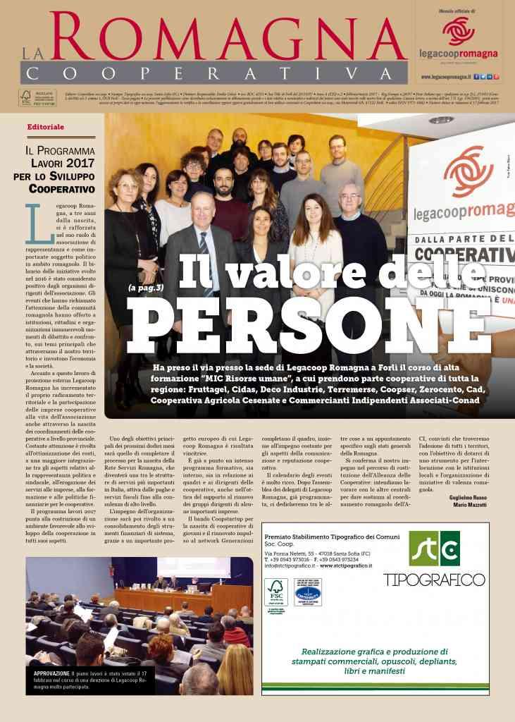 Il valore delle persone – il nuovo numero della Romagna Cooperativa [2/2017]