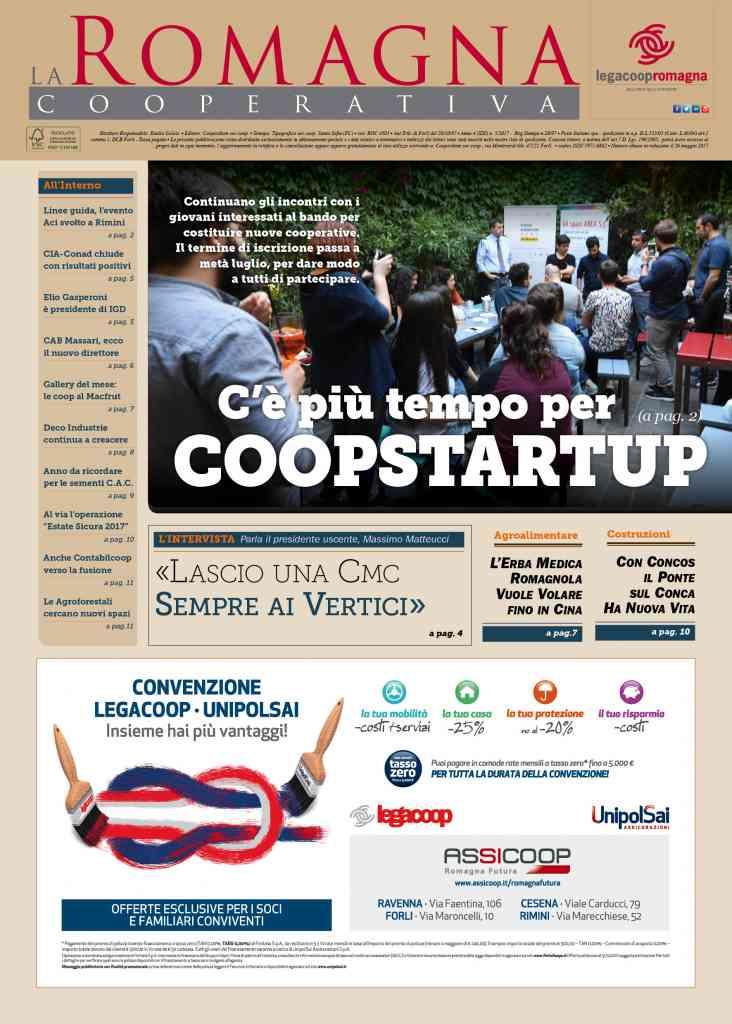 C'è più tempo per Coopstartup – Il nuovo numero della Romagna Cooperativa