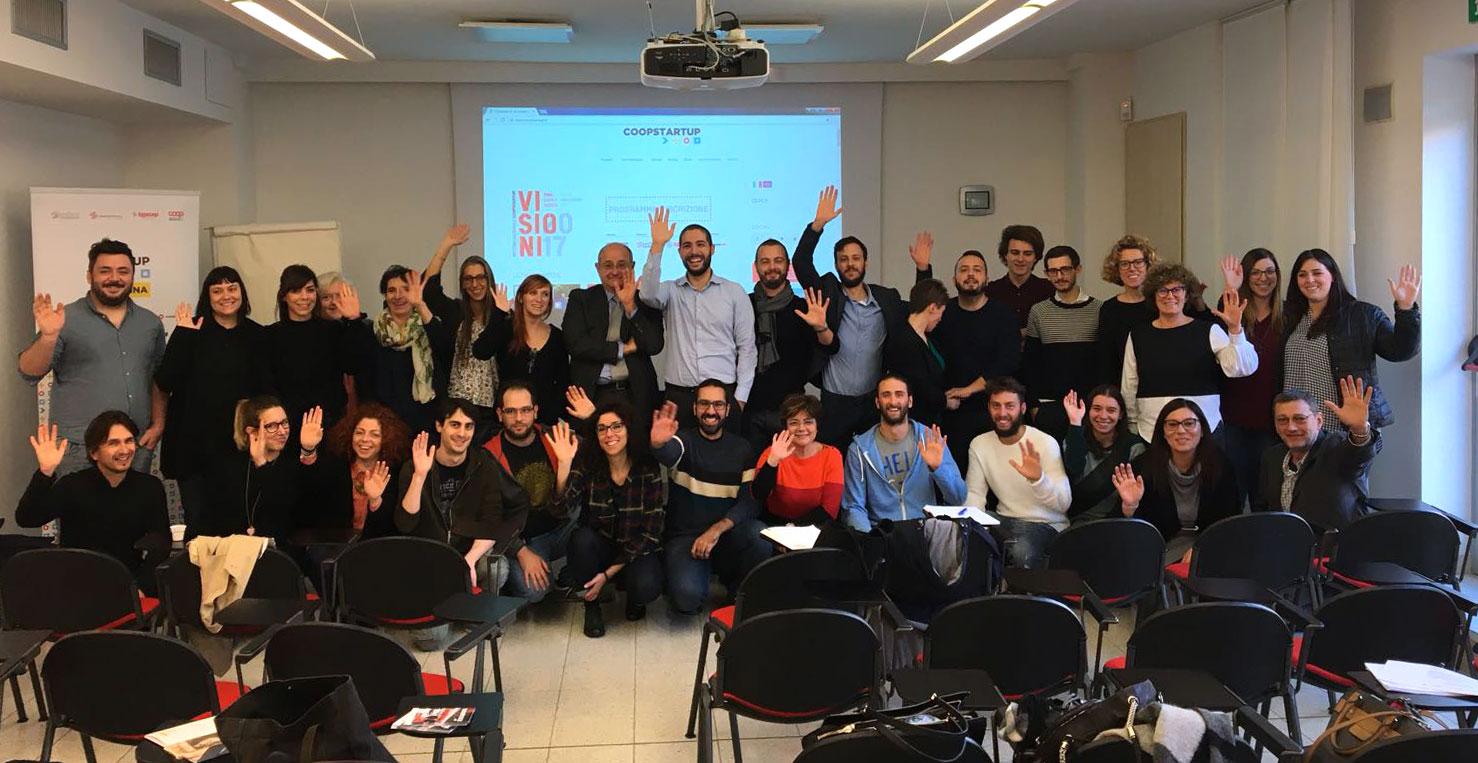 Formazione e analisi delle idee d'impresa: iniziano le finali di Coopstartup Romagna [foto] [video]