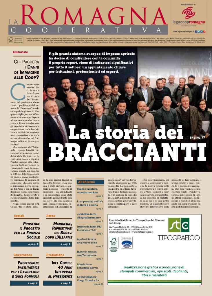 La storia dei braccianti – il nuovo numero della Romagna Cooperativa [pdf] [app]