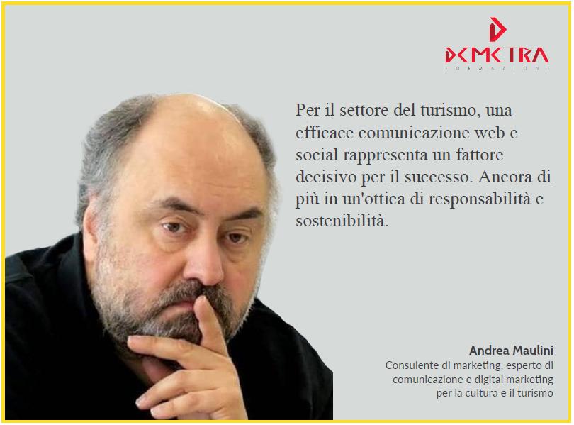 Social media per il turismo, corso con Andrea Maulini a Rimini il 19 e 20 aprile