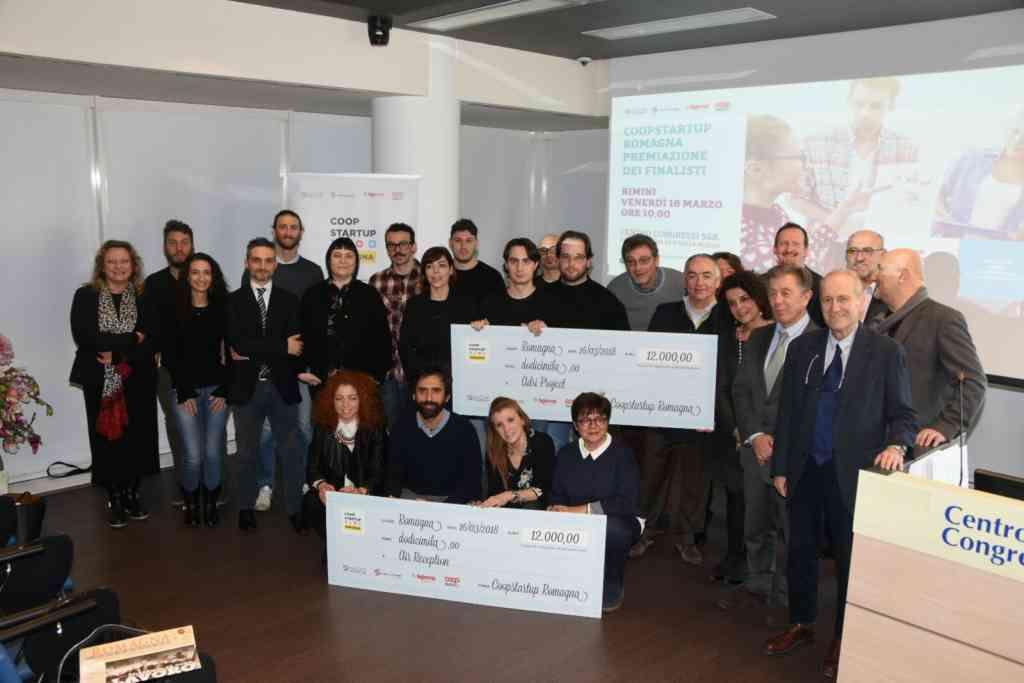 Coopstartup Romagna, premiati i vincitori della prima edizione
