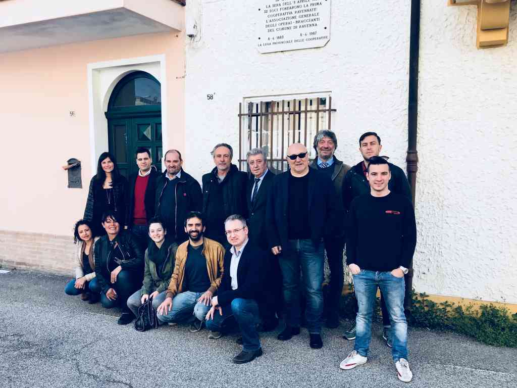 Ricordato a Ravenna l'anniversario della prima cooperativa