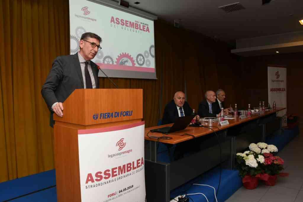 Le foto dell'assemblea di Legacoop Romagna del 4 maggio 2018