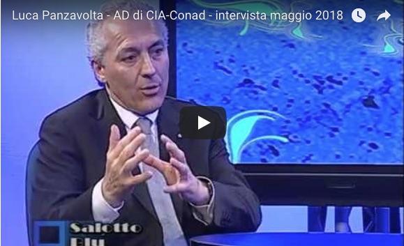 Il vicepresidente di Legacoop Romagna, Luca Panzavolta, intervistato da Salotto Blu