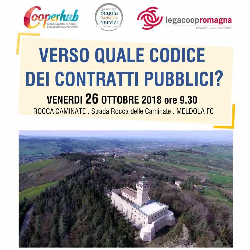 Verso quale codice dei contratti pubblici?