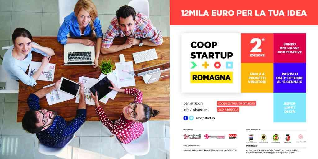 Il 15 gennaio è il termine ultimo per iscriversi a Coopstartup Romagna