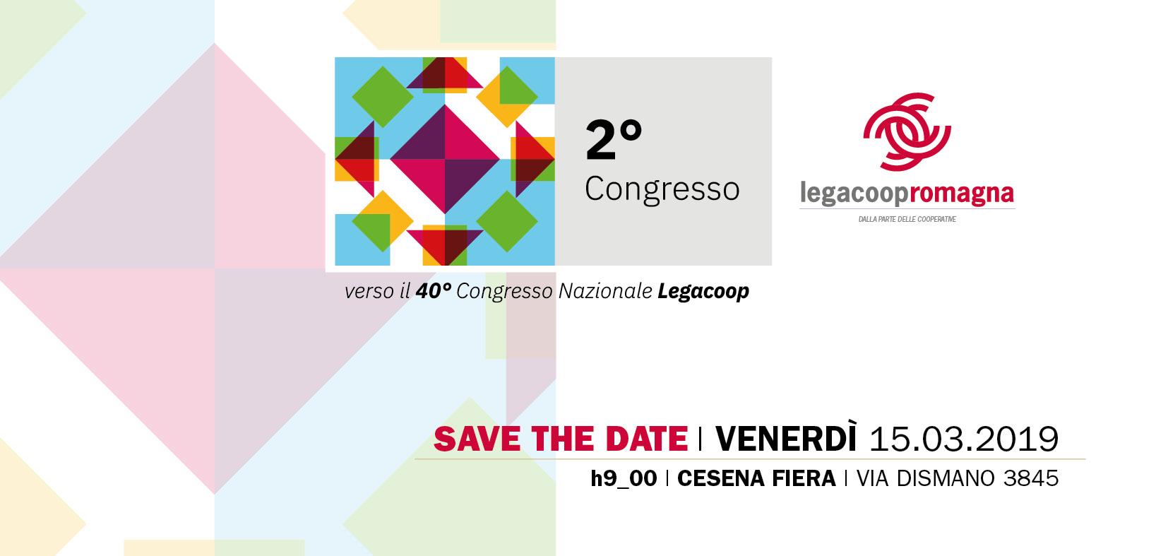 Congresso Legacoop Romagna il 15/3 a Cesena
