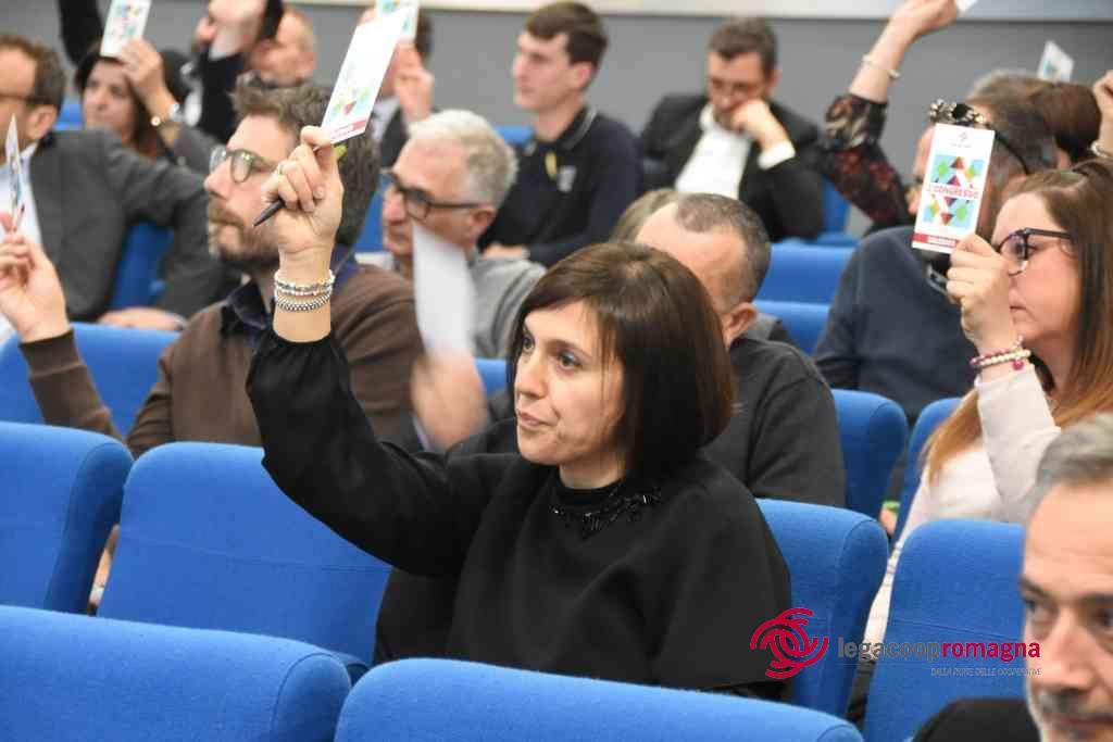 Le foto e i servizi TV del 2° congresso di Legacoop Romagna