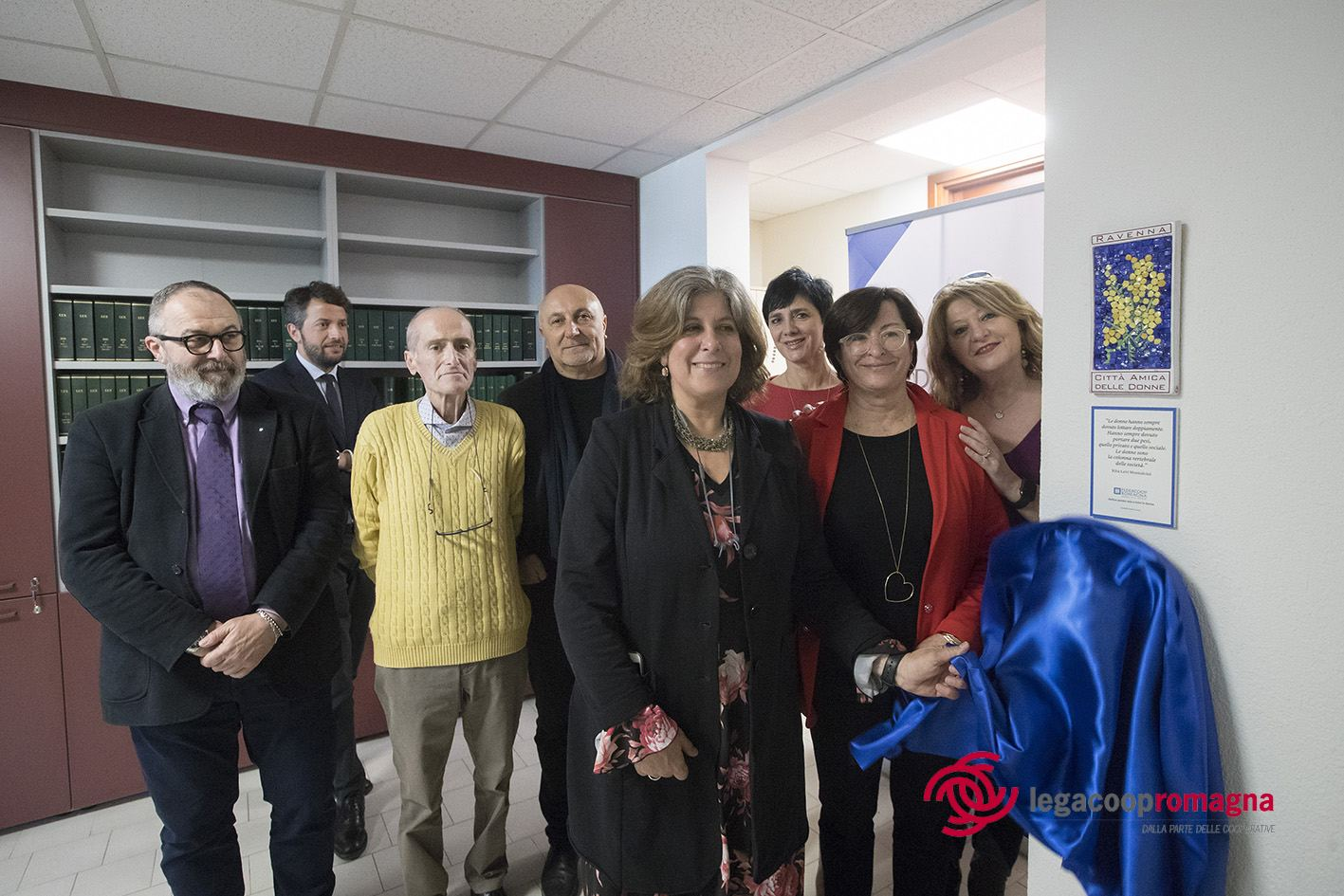 Federcoop Romagna inaugura la Sala Mimosa in occasione dell'8 marzo