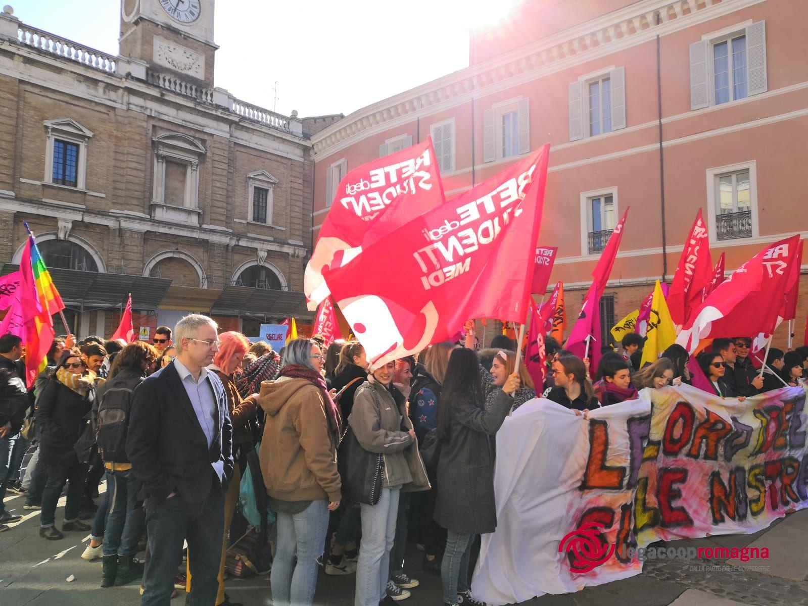 Legacoop Romagna alla manifestazione di Libera contro le mafie