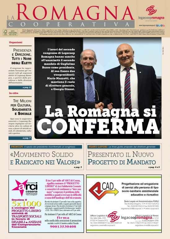 La Romagna si conferma – il n.3/2019 della Romagna Cooperativa [pdf] [app]