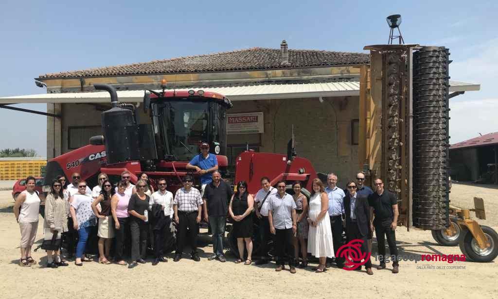 Cooperatori canadesi in visita a Legacoop Romagna
