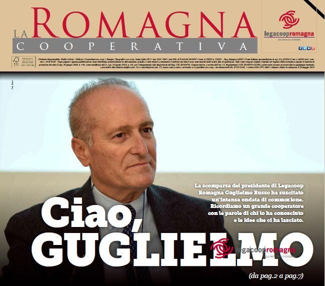 Ciao Guglielmo – La Romagna Cooperativa 5/2019
