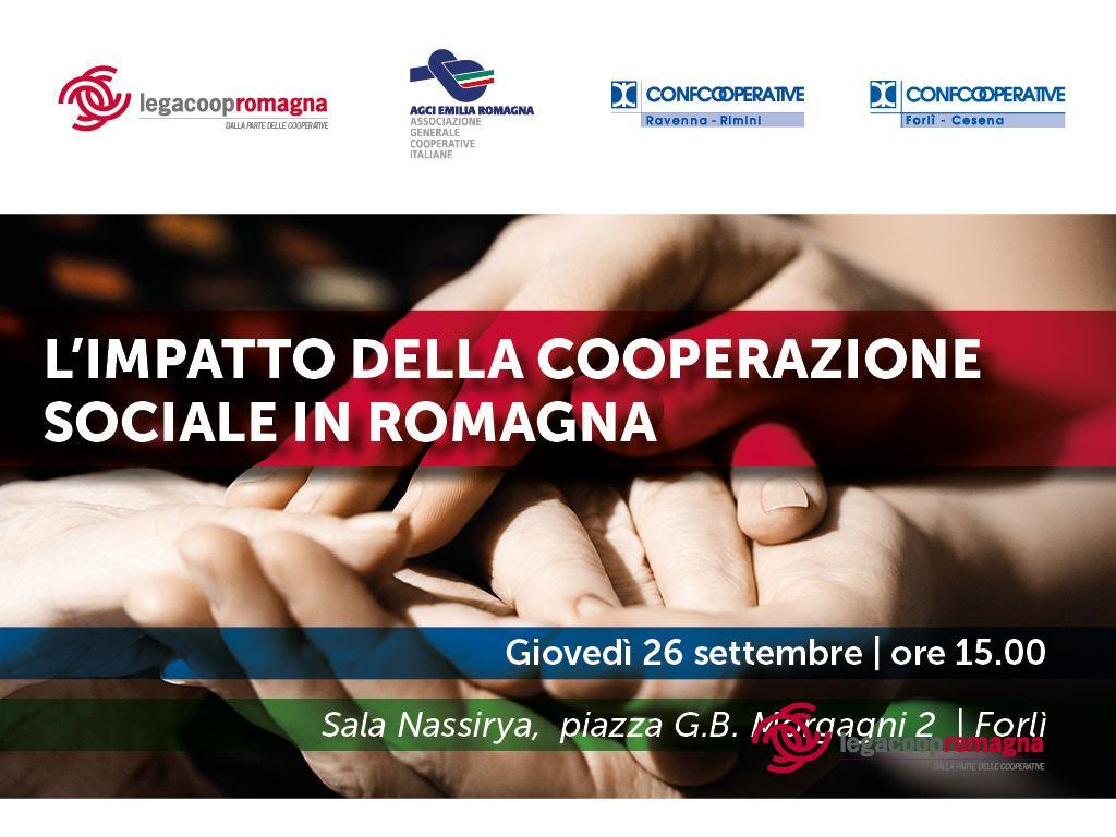 L'impatto della cooperazione sociale in Romagna, il 26/9 convegno ACI a Forlì