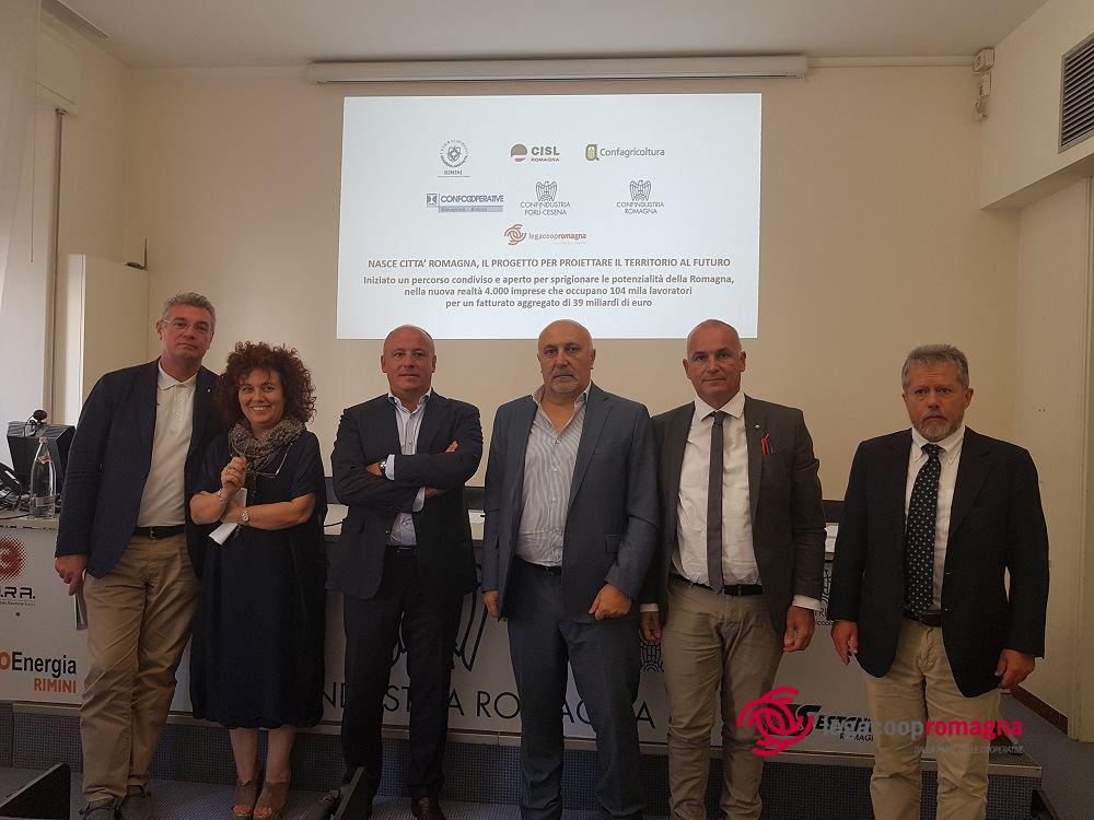 "Progetto ""Città Romagna"", Legacoop tra i promotori"