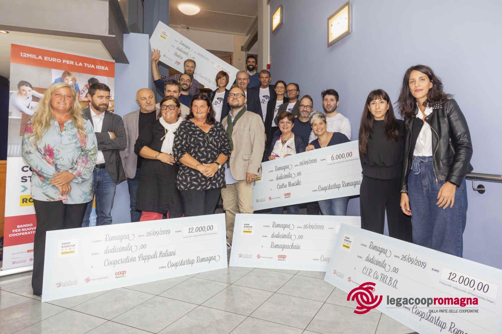 Coopstartup Romagna II, 6 progetti sul podio e 60mila euro di premi
