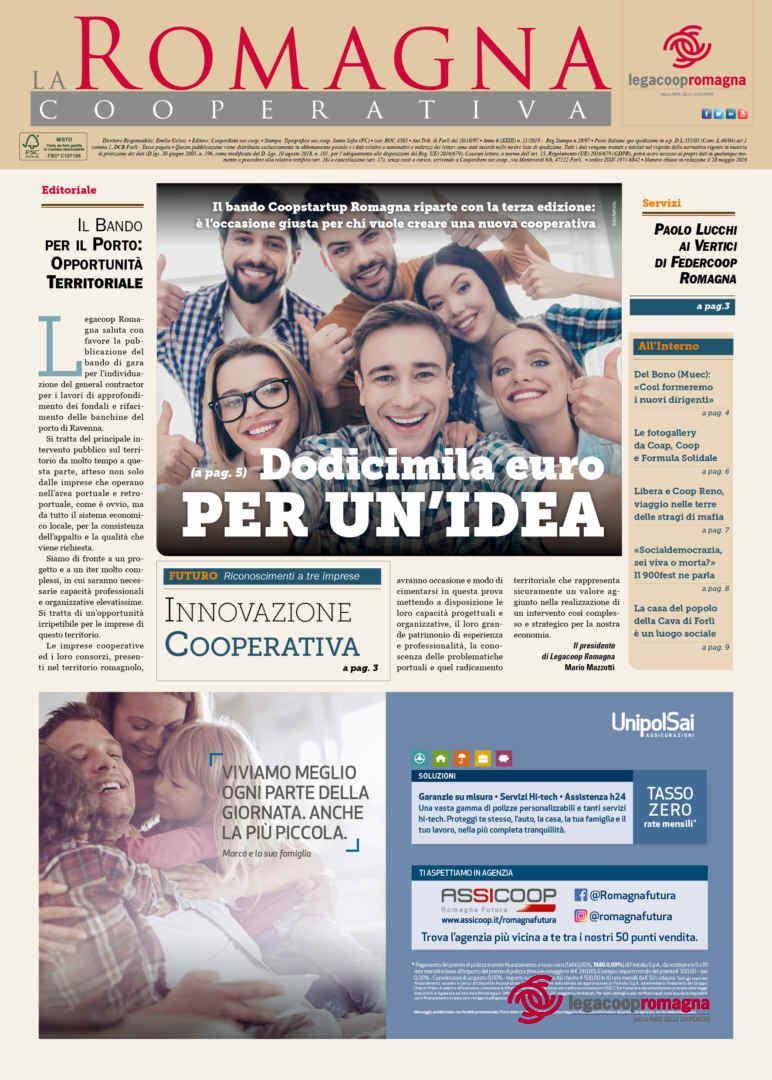 Dodicimila euro per un'idea – la Romagna Cooperativa n.11/2019 [pdf]
