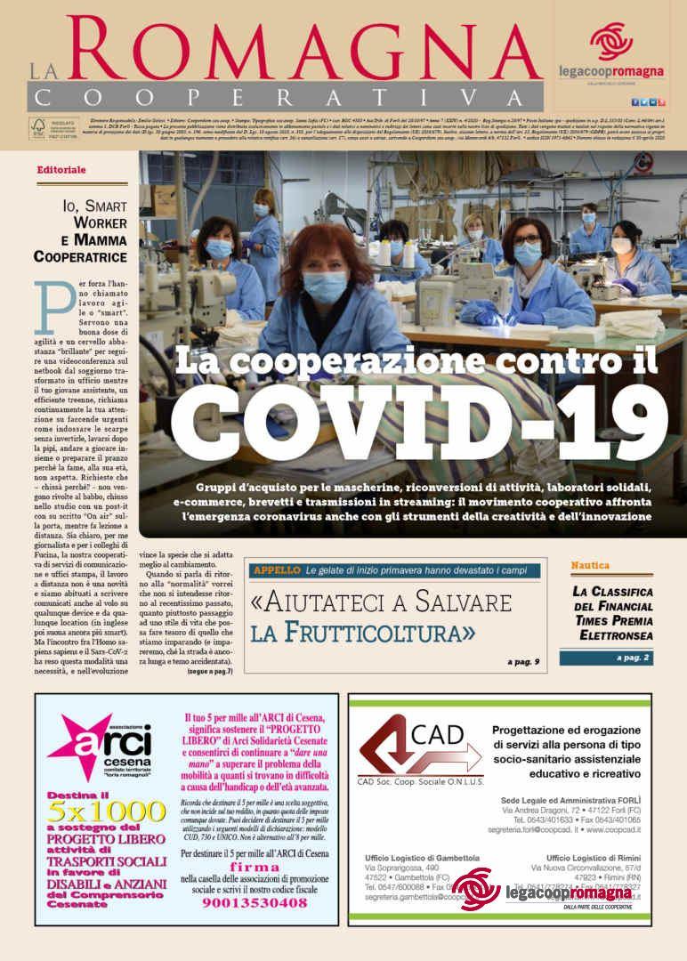 La cooperazione contro il COVID-19 – il n.4/2020 della Romagna Cooperativa