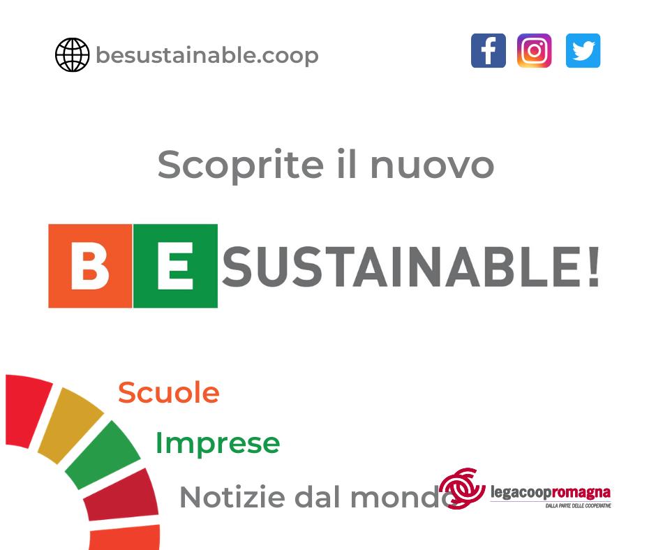 Si aggiorna il portale BeSustainable.coop sullo sviluppo sostenibile